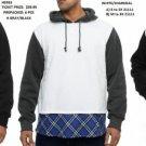 White Pullover Hoodie Sweatshirt Casual Floral Print Fleece Hoody Jacket L-3X #4