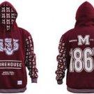 Morehouse College Pullover Hoodie Jacket Fleece Hoody Hoodie M-4XL