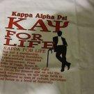 Kappa Alpha Psi White short sleeve T-Shirt PHI NU PI Fraternity T shirt M-5X