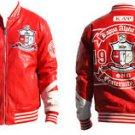 Kappa Alpha Psi Fraternity Jacket Polyurethane Leather Fraternity Jacket M-5X