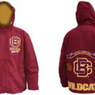 Bethune Cookman Windbreaker College Jacket Zip Up Hoody Windbreaker M-4X