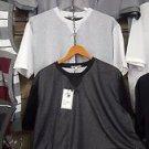 Black Mesh crew neck Jersey Mesh T-shirt Gym Casual Fashion Jersey T-shirt M-2X