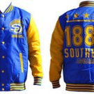 Southern Jaquars University Light Weight Letterman Jacket Varsity Jacket M-4X