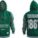 Chicago State College Pullover Hoodie Jacket Fleece Hoody Hoodie M-4XL