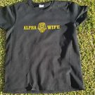 Alpha Phi Alpha Wife T-shirt Alpha Phi Alpha Black Short sleeve Wife T-shirt XL