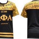 Alpha Phi Alpha short sleeve T-SHIRT Sublimation Greek Fraternity T-shirt M-4XL