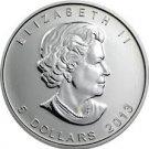 Canada Silver 1 OZ coin - 2013 Canadian Silver Maple Leaf 1OZ .9999 silver