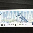 Canada Banknote - BC-56b - $5.00 - 1986 issue 3 letter prefix - EPH -  Thiessen-Crow