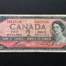 Canada Banknote - BC-38c - $2.00 - 1954 Issue - Modified