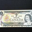 Canada Banknote - BC-46b - $1.00 - 1973 Issue 3 letter prefix ECN