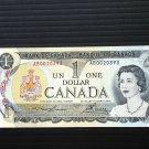 Canada Banknote - BC-46a - $1.00 - 1973 - Off centre cut
