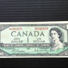 Canada Banknote - BC-37b - $1.00 - 1954 modified issue