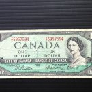 Canada Banknote - BC-37b-i - $1.00 - 1954 modified issue