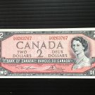 Canada Banknote - BC-38d - $2.00 - 1954 modified issue