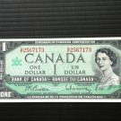 Canada Banknote - BC-45b-i - $1.00 - Centennial Serial number issue G/P