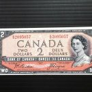 Canada Banknote - BC-30b - $2.00 - Devil's face issue