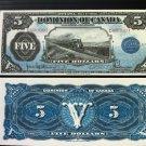 Canada Fantasy Banknote - DG-21 g - Fantasy reproduction of this series.