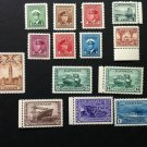 Canada Stamp - 249- 262 War Issue set of 14 VF Mint NH