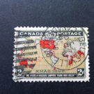 Canada Stamp - 86 - Imperial Penny Postage Xmas 1898 CDS Used Muddy Waters variety