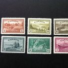 Canada Stamp -268 - 273 Peace Issue set of 6 Set F-VF hinged