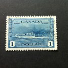Canada Stamp -262 War Issue Destroyer - VF used