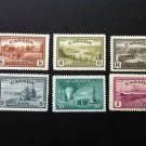 Canada Stamp -268 - 273 Peace Issue set of 6 - Mint Hinged Fine