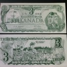 Canada Fantasy Banknote - Bank of Baloney 3 dollar - Mulroney Funny Money