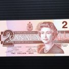 Canada Banknote - BC-55a - $2.00 - 1986 -Change over Serial number VERY Hard to find
