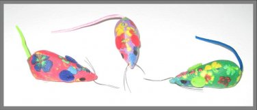 Printed Mice Cat Toy