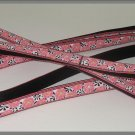 Bark Ave. Pink Zinnias Dog Leash