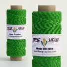 TRUE HEMP spool - GREEN - 1mm diameter 20lb - 205feet/62m - 50gram