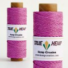 TRUE HEMP spool - PINK - 1mm diameter 20lb - 205feet/62m - 50gram