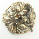 Joseff Of Hollywood Vintage Flower Brooch
