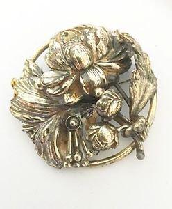 Joseff Of Hollywood Vintage Flower Brooch