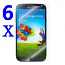 6x Anti-Glare LCD Screen Protector Film FOR Samsung Galaxy SIV S4 i9500