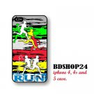 Running style iPhone 4 Case Running men iPhone 4s case, patterns iPhone case cover iphone 4 case