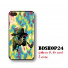 Boxer Dog Pipe Hat Mr Human iPhone Case, dog iPhone 4 case, funny dog iPhone 4s case Crazy dog cover