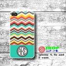 Aztec iPhone 4 4s Case, Aztec iPhone 4 4s Case, Aztec tribal iPhone 4 cover, Monogram iphone 4s case