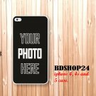 iPhone 5 case personalized iPhone case with your picture logo text Photo design Monogram