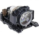 REPLACEMENT LAMP & HOUSING FOR HITACHI DT00601 CP-X1250W CP-X1350 HCP-7500X HSX8500 PROJECTOR