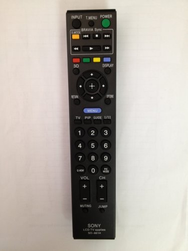 REMOTE CONTROL FOR SONY TV KDE-61XBR950OL KDF-50E2000PKG KDF-50X30 KDF-60XBR910