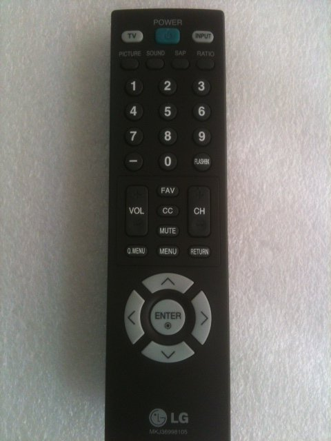 REMOTE CONTROL FOR LG TV 50PC1DRA 50PC3D 50PC3D-H 50PC5D 50PC5DC 50PG20 50PG30