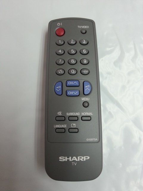 REMOTE CONTROL FOR SHARP TV RRMCG1324CESA RRMCG1324CESB