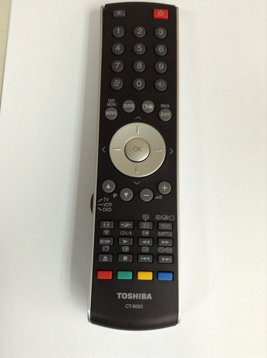REMOTE CONTROL FOR TOSHIBA TV 52XV540/U 46VX700U 55VX700 55VX700U