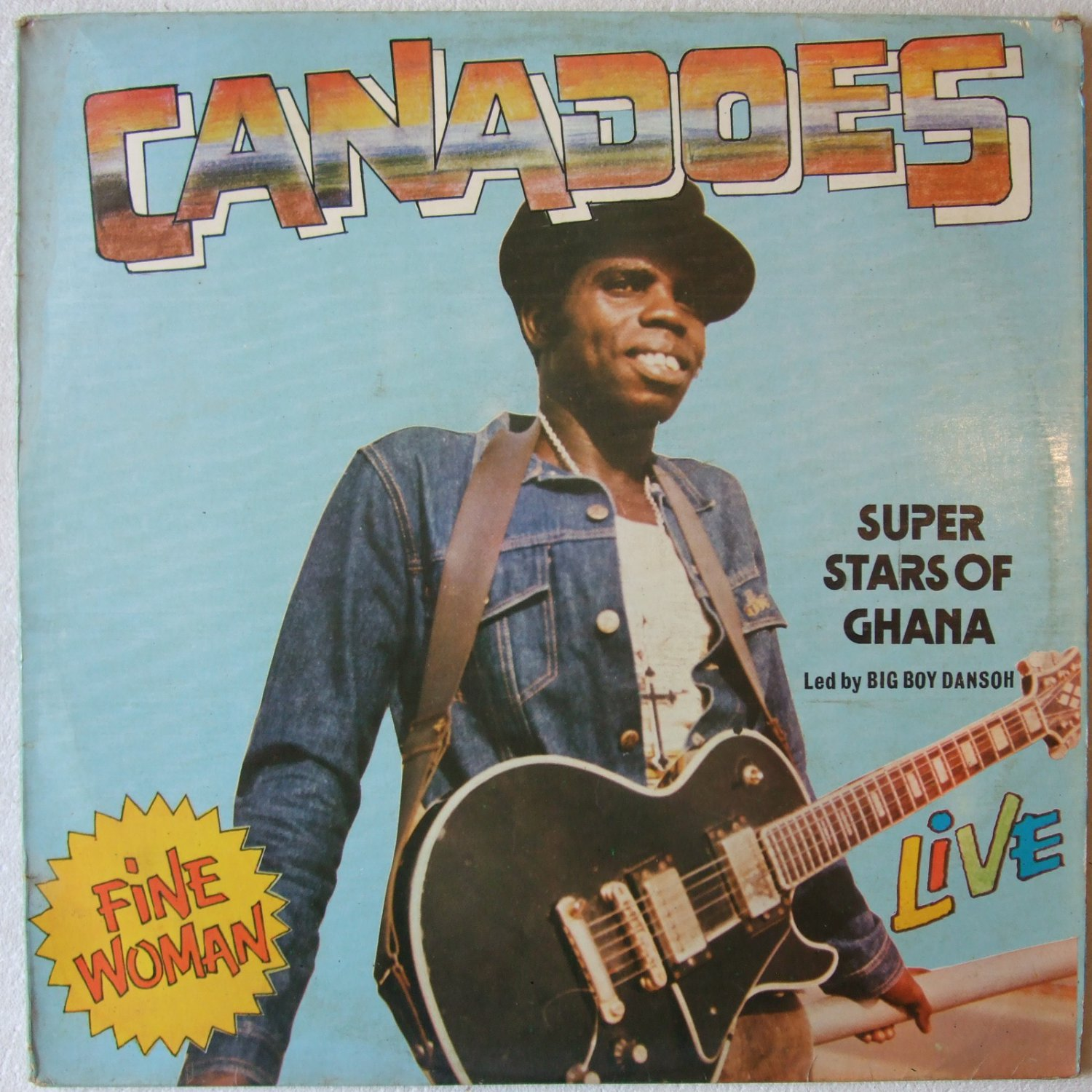 CANADOES STARS GHANA fine woman FUNKY HIGHLIFE LP ⬠mp3 listen
