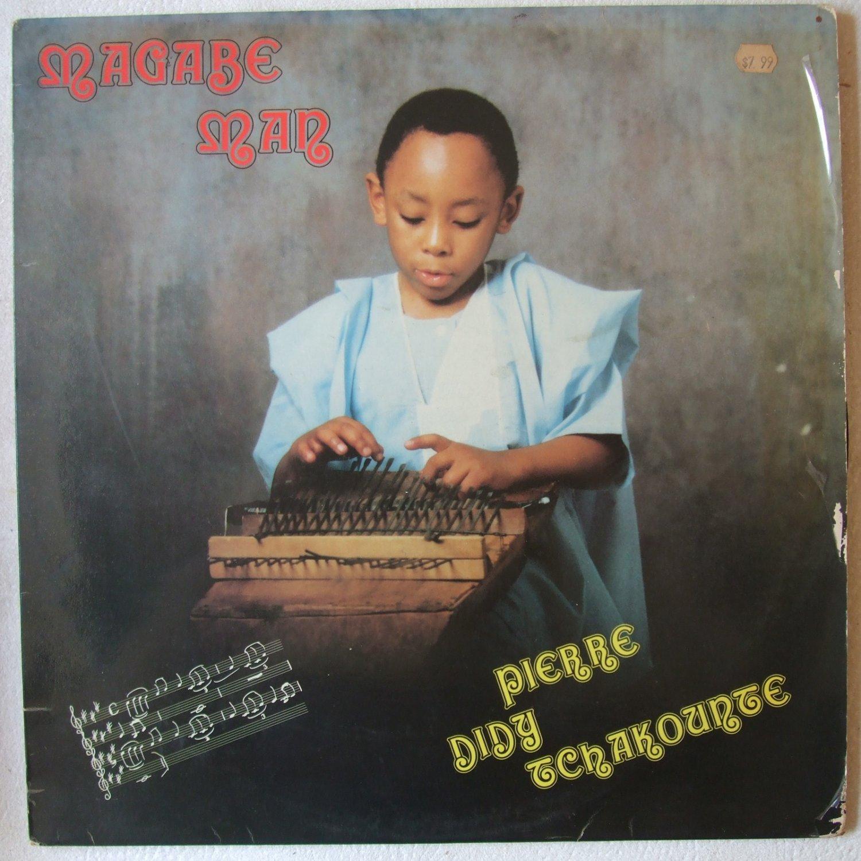 PIERRE DIDY TCHAKOUNTE magabe man AFRO DISCO ELECTRO TRAD LP � mp3 listen