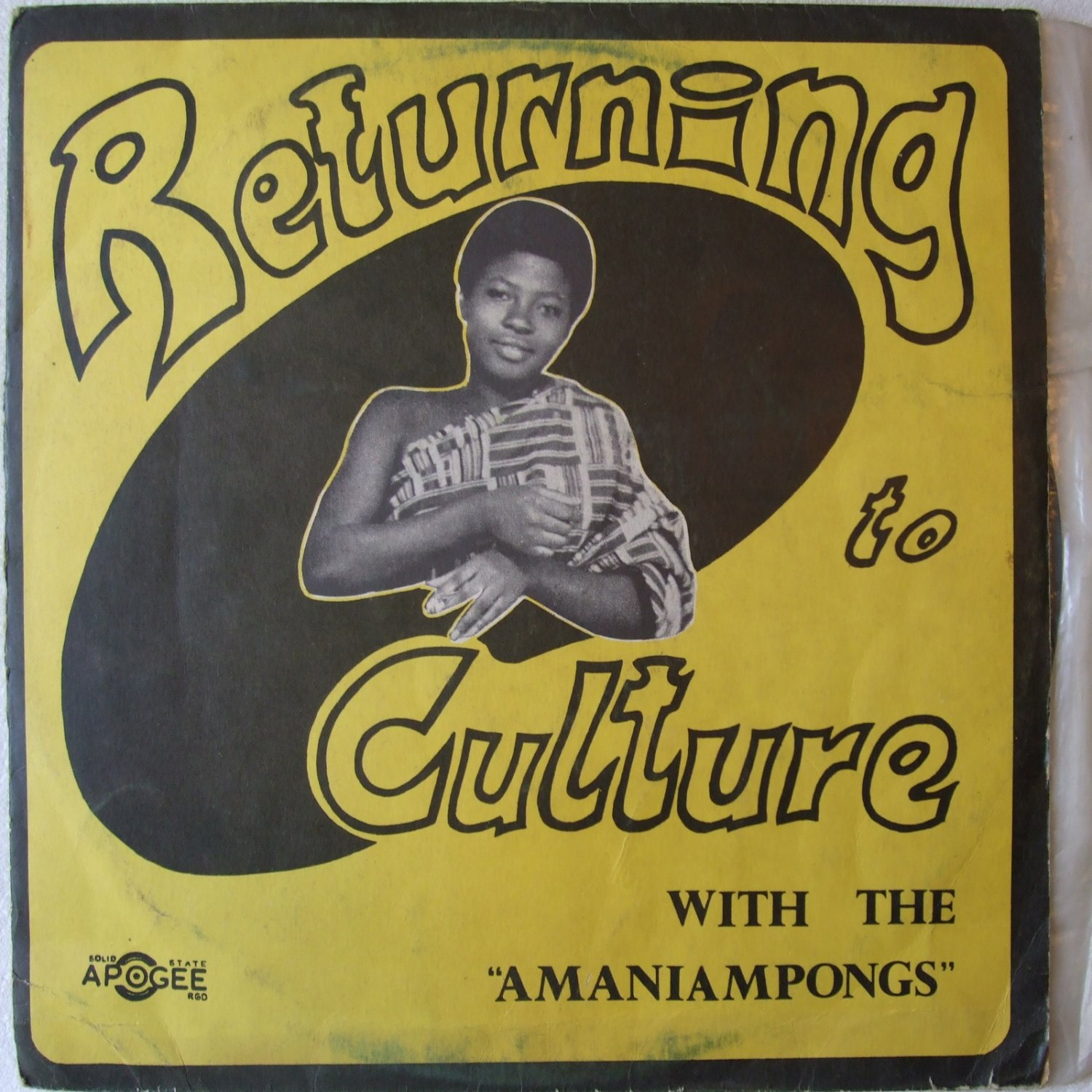 AMANIAMPONGS returning to culture TRAD GHANA LP � mp3 listen