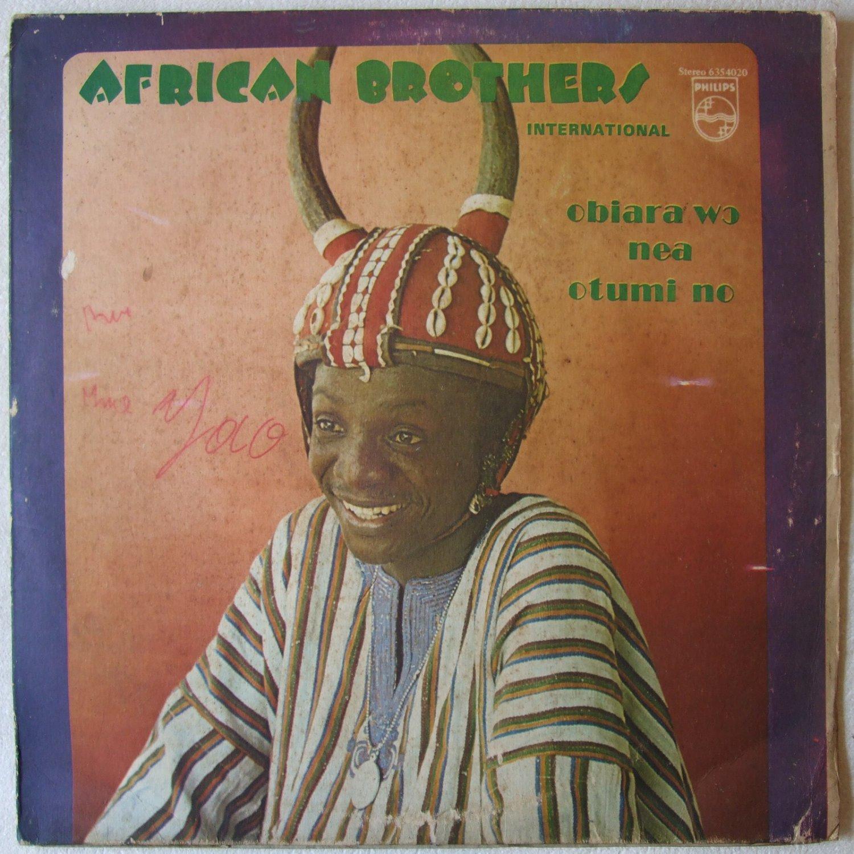 AFRICAN BROTHERS obiara wo nea otumi no LP DANCEFLOOR SOUKOUS DEEP HIGHLIFE� listen