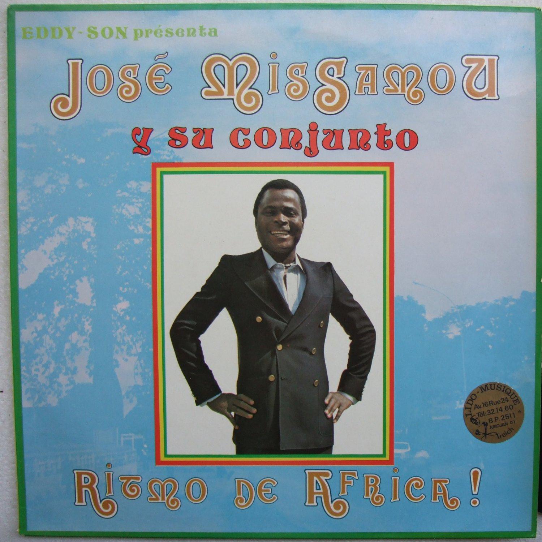 JOS� MISSAMOU Y SU CONJUNTO ritmo de africa AFRO LATIN LP