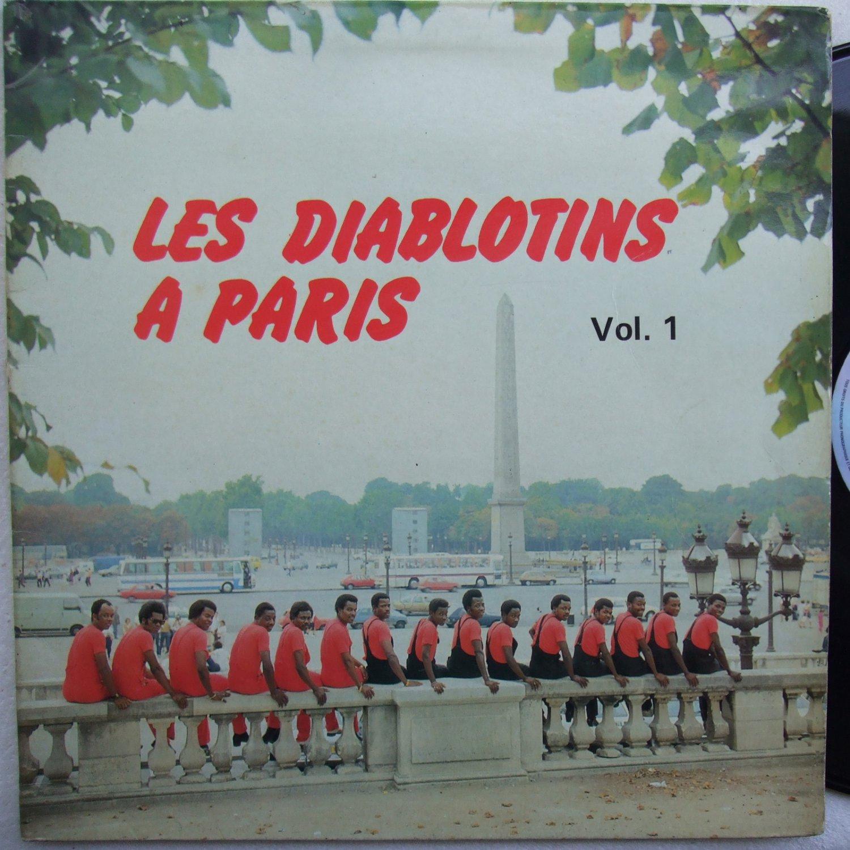 LES DIABLOTINS a paris vol1 HOT DANCEFLOOR SOUKOUS LP mp3 soundclip
